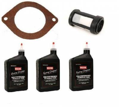Western - Western UniMount  Service Kit With Fluid