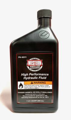 Western - Western High Performance Hydraulic Fluid-12 Quart Case