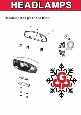 Western - Pro Plow Headlight Components