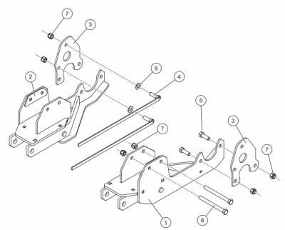 Western - Western Ultramount Kit 31700 Chevy/GMC 2500/3500 2020+