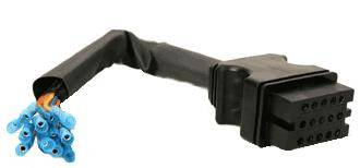 Boss - Boss Control Harness Repair Kit 13 Pin Vehicle Side MSC04753