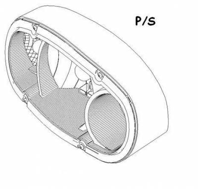 Boss - Boss Passenger Side Headlight SmartLight2 MSC11130