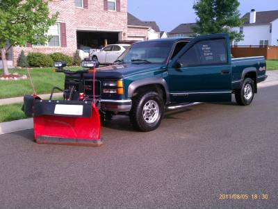 Boss V-Plow from Me & My Diddy Lawn Care