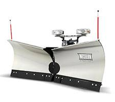 Western Snow Plows - Western - Western 8'6 MVP3 Stainless Steel  *CALL FOR PRICING*