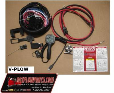 Boss Snowplow Parts - Boss Controllers & Electrical Parts - Boss - Boss MSC07373 V-Blade Control Kit, 2015+ Dodge