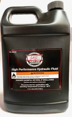 Pro-Plow - Accessories & Fluids - Western - Western High Performance Hydraulic Fluid-Gallon