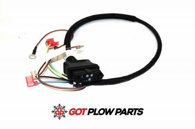 Fisher Snowplow Parts - Plow Side Harnesses - Fisher - Fisher 3 Pin Control Repair Harness Plow Side 26359