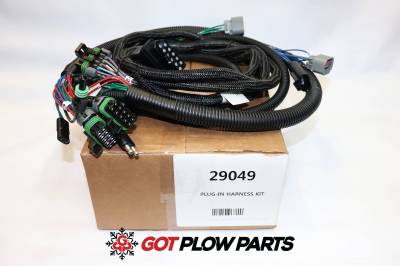 Vehicle Specific Wiring - Chevy/GMC Wiring - Western - Western 3 Port Harness Kit H13 Lights 29049