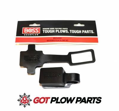 Boss Plow Parts - Accessories & Fluids - Weather Plug & Cap Kit MSC04581