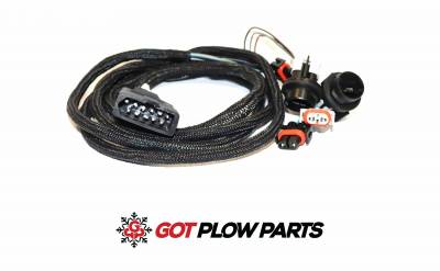 Pro-Plow - Plow Lights - Western - 38807 Western Plow Side 11 Pin Harness NIGHTHAWK 2 Lights