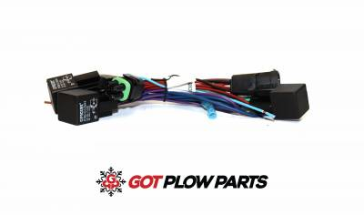 Pro Plus - Vehicle Side Harnesses - Western - Western Adapter Relay Kit 69826-1