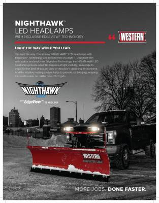 Pro-Plow - Plow Lights - Western - Western Nighthawk LED Plow Light Kit 72560