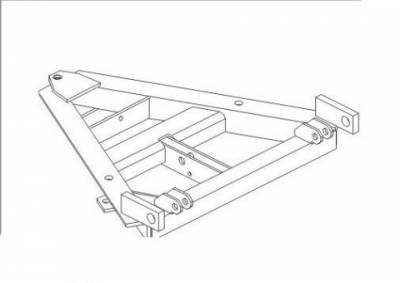 Midweight - Plow Components - Western - Western Midweight/ Pro Plow A-Frame 68291