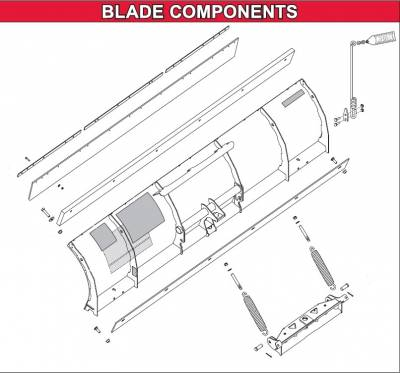 Interactive Parts Diagram - Defender - Western - Defender Blade Components