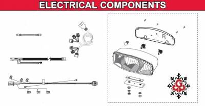 Western - Defender Electrical Components