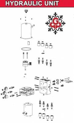 Interactive Parts Diagram - MVP3 - Western - MVP3 Hydraulic Unit