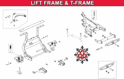 Interactive Parts Diagram - MVP3 - Western - MVP3 Lift Frame Components