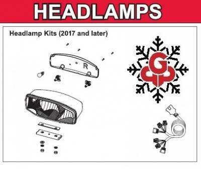 Interactive Parts Diagram - MVP3 - Western - MVP3 Headlamps