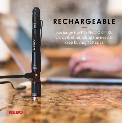 NEBO - NEBO INSPECTOR RC FLASHLIGHT 6810 - Image 3