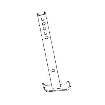 Boss Plow Parts - Plow Components - Boss - Boss RT3 Sport Duty Straight Blade Kickstand STB09597