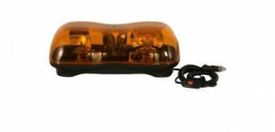 Emergency Lighting, Strobes, L.E.D.'s - Buyers - Buyers Amber Mini-Lightbar 8891020
