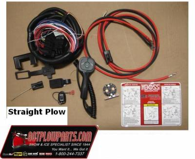 Vehicle Specific Wiring - Dodge Wiring - Boss - Boss Control Kit SmartTouch 2 RT3 Straight Plow STB15103