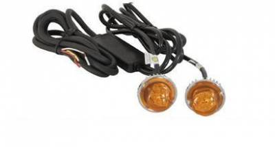 Emergency Lighting, Strobes, L.E.D.'s - Buyers - Buyers Dual Hidden LED Amber Strobe Light Kit 8891216