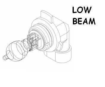 Boss Snowplow Parts - Boss Common Snowplow Parts - Boss - Boss Low Beam Headlight Bulb MSC11106