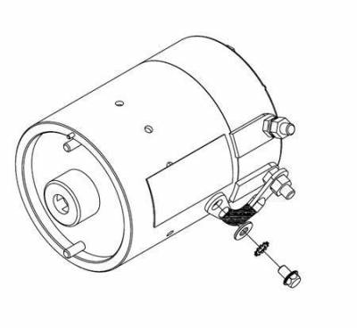Boss Snowplow Parts - Boss Common Snowplow Parts - Boss - Boss Snowplow Motor 12V HYD01563