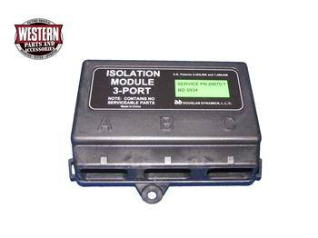 Western Electrical Parts - 3 Port System - Western - Western 3 Port Isolation Module 29070-1