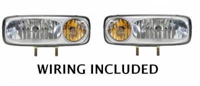 Defender - Plow Lights - Western - Western NIGHTHAWK Light Kit Set 28800-1