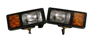 Fisher Snowplow Parts - Plow Lights - Fisher Light Kit, Old Style 8435